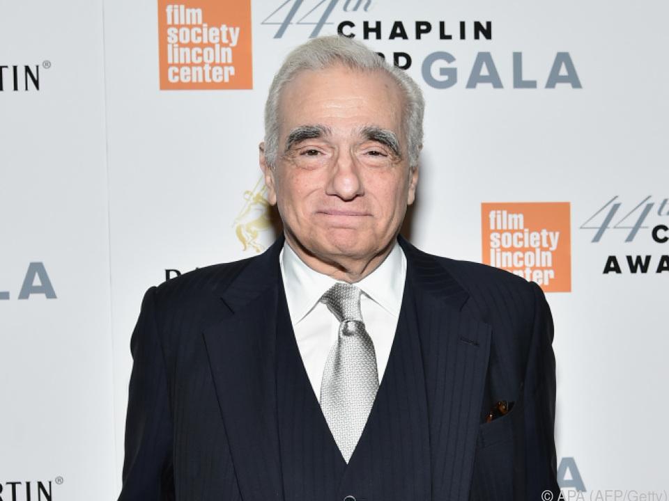 Martin Scorsese hat noch viele Pläne