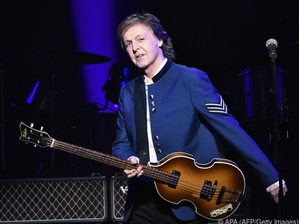 McCartney ist bekennender Vegetarier