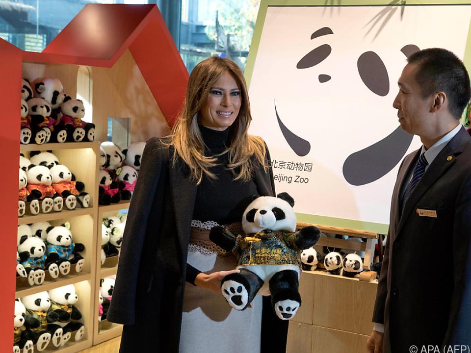 Melania Trump - ein Opfer von Chinas \