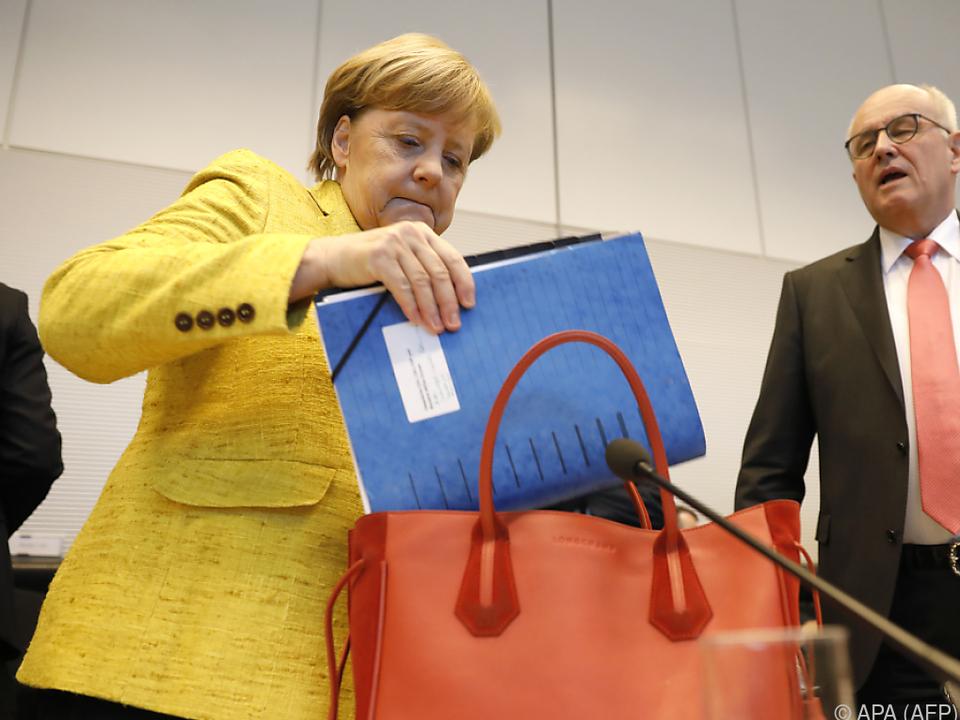 Merkel möchte Fortschritte in den Sondierungsgesprächen