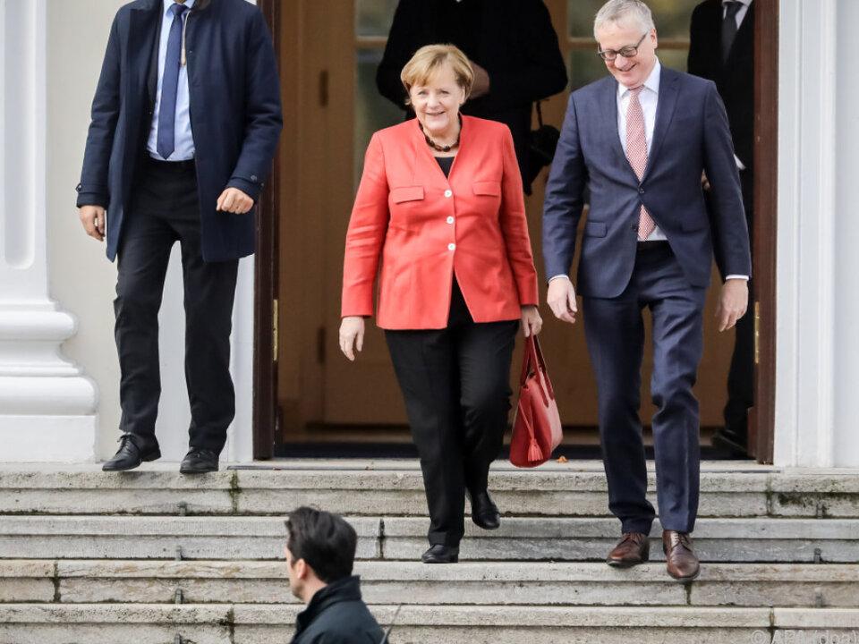 Merkel strebt eine Entscheidung der Wähler an
