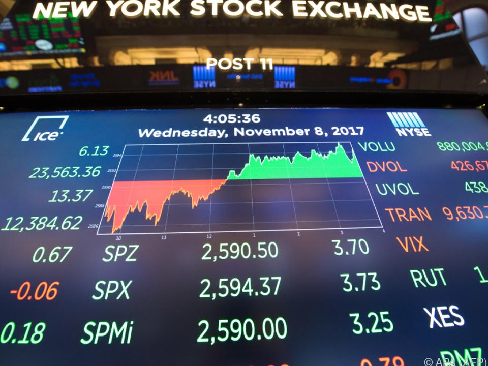 Mit den Aktien stiegen die Vermögen