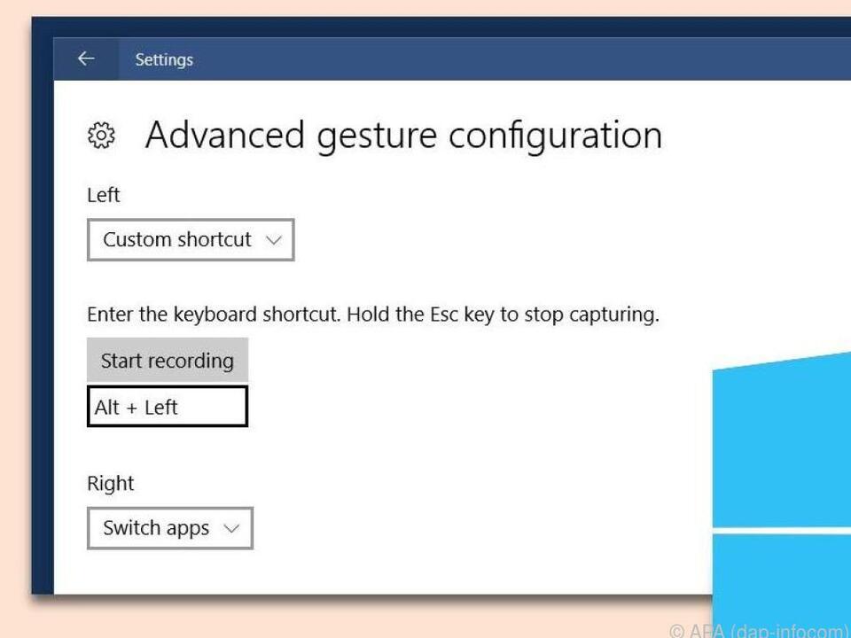 Mit einem Präzisions-Touchpad lässt sich Windows 10 per Wischgesten steuern