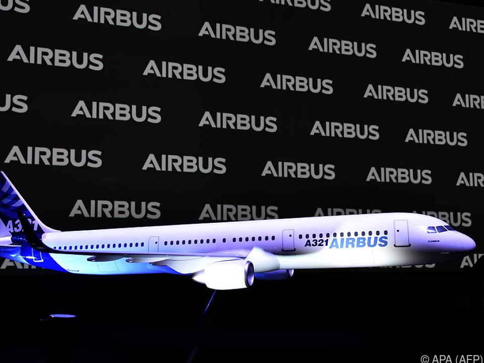 Model des Airbus A321