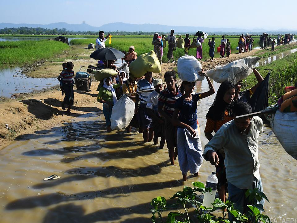 Myanmar droht, vertriebene Rohingya nicht mehr zurückzunehmen