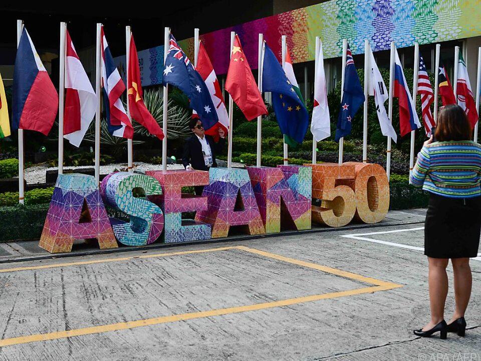 Myanmar gehört zu den ASEAN-Staaten