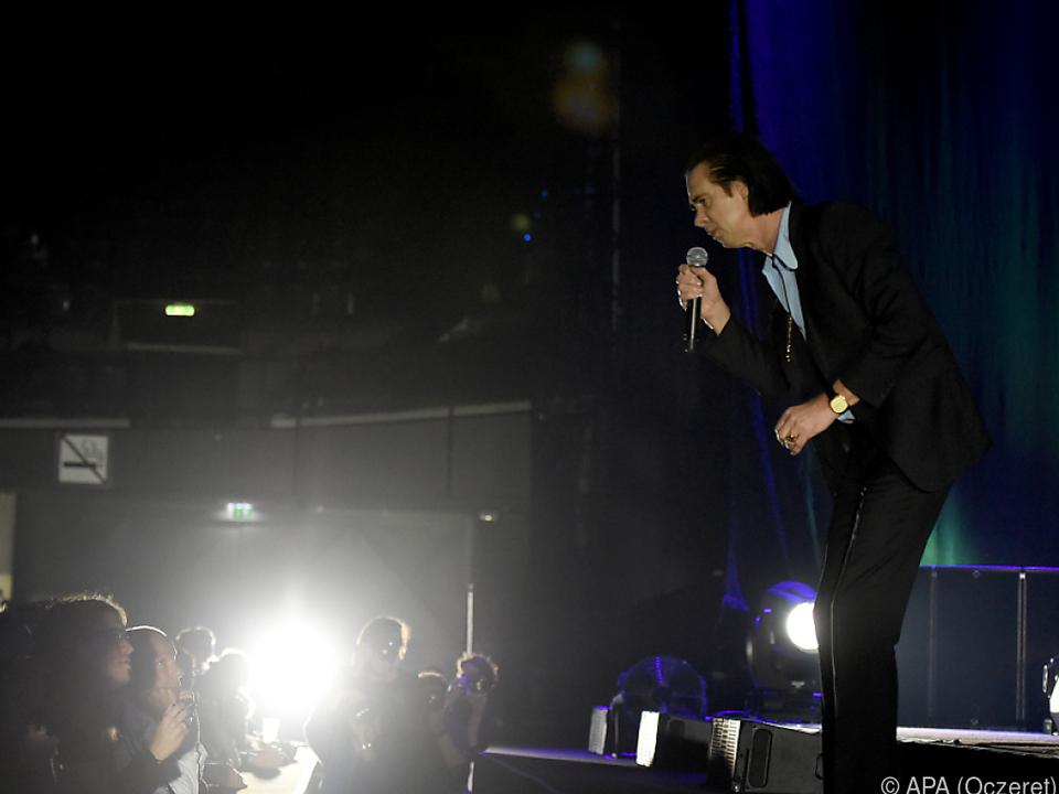 Nick Cave begeisterte bei seinem Auftritt