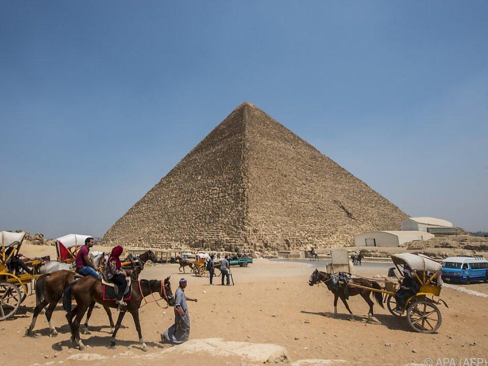 Noch immer ist nicht klar, wie die Pyramiden gebaut wurden
