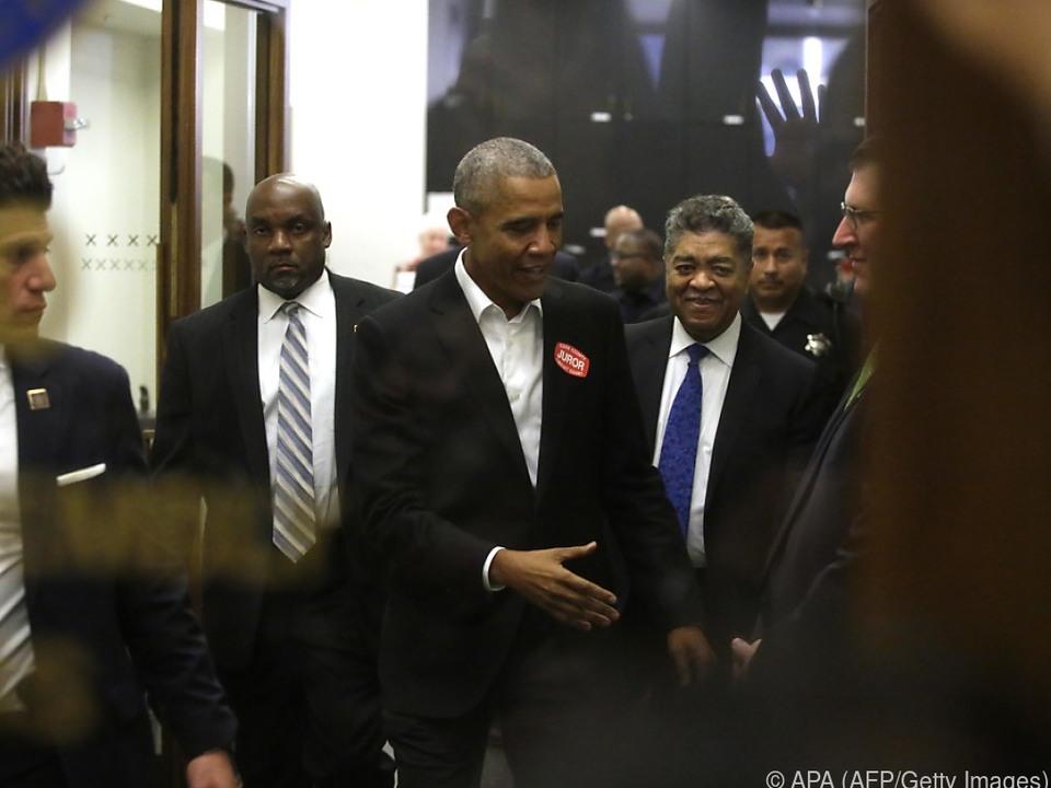 Obama wurde nicht zum Geschworenen ernannt