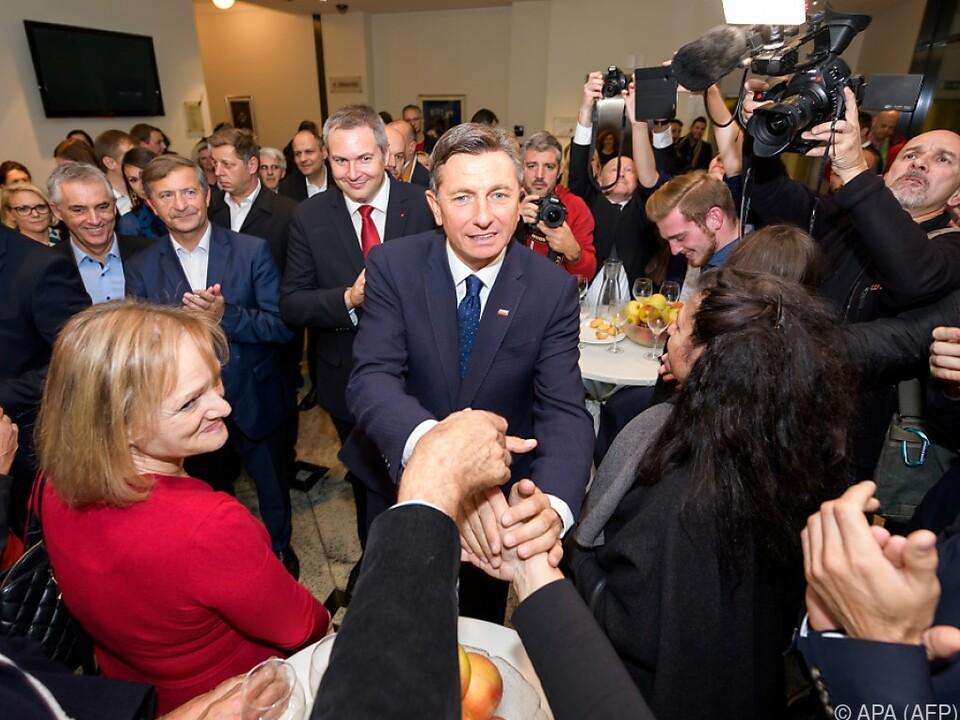 Pahor freut sich über erneutes Vertrauen der Wähler
