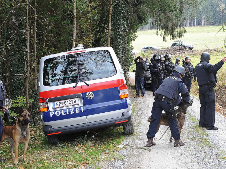 Polizei sucht im bewaldeten Gebiet um Stiwoll nach dem 66-Jährigen