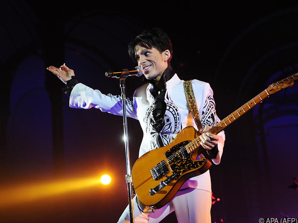 Prince war einer der wenigen Guitar-Heros der Popszene