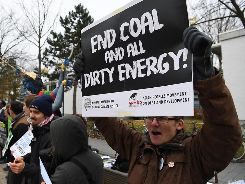 Proteste gegen die Zerstörung des Weltklimas