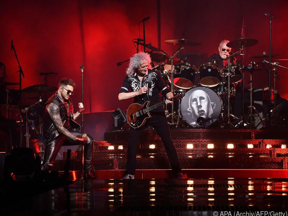 Queen live (fast) ohne Mercury