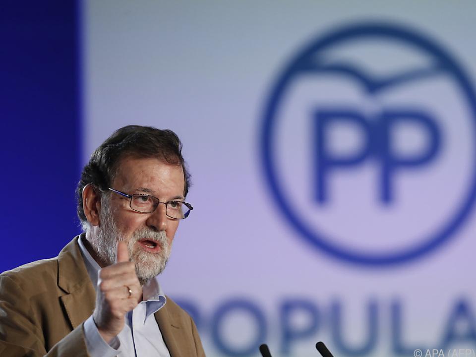 Rajoy würde Neuwahlen laut Umfragen wieder gewinnen