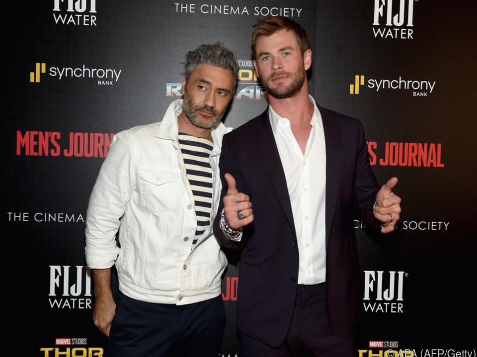 Regisseur Taika Waititi und Chris Hemsworth dürfen zufrieden sein