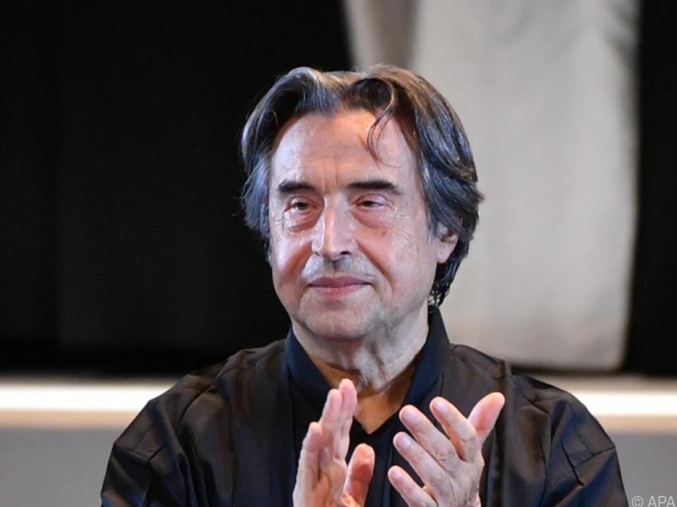 Riccardo Muti möchte Neujahr im Kreise der Familie feiern