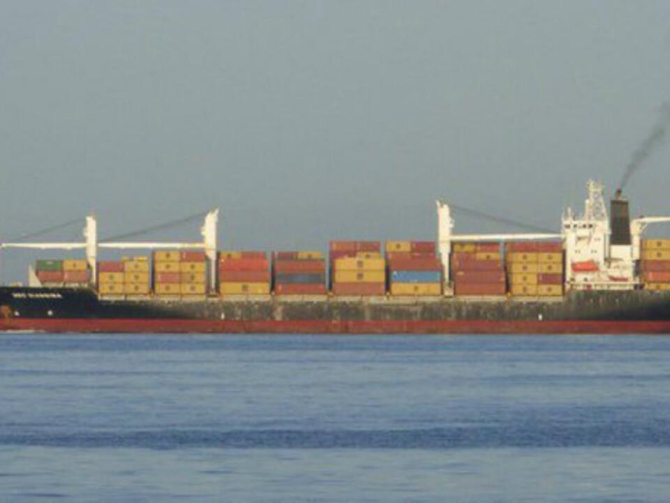 Frachtschiff Giannina MSC