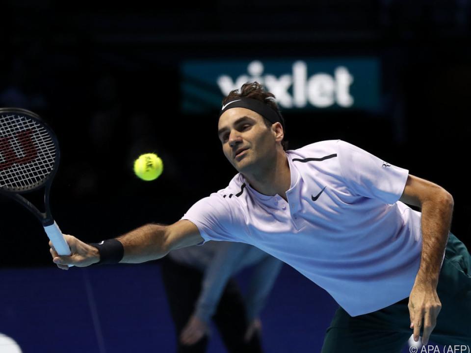 Roger Federer setzte sich gegen Jack Sock durch