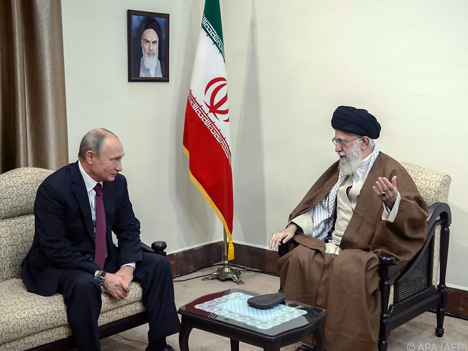 Russland und der Iran sind Verbündete