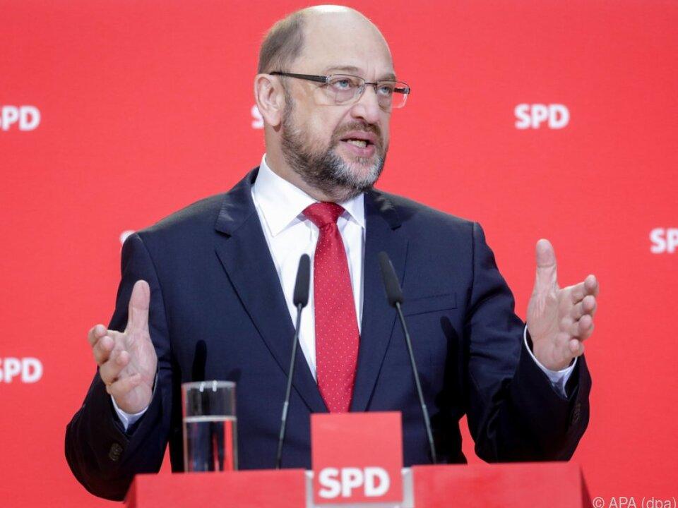Schulz will sich Appell nicht verweigern