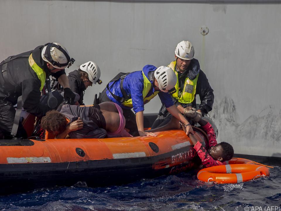Seit Jänner starben rund 3.000 Menschen im Mittelmeer