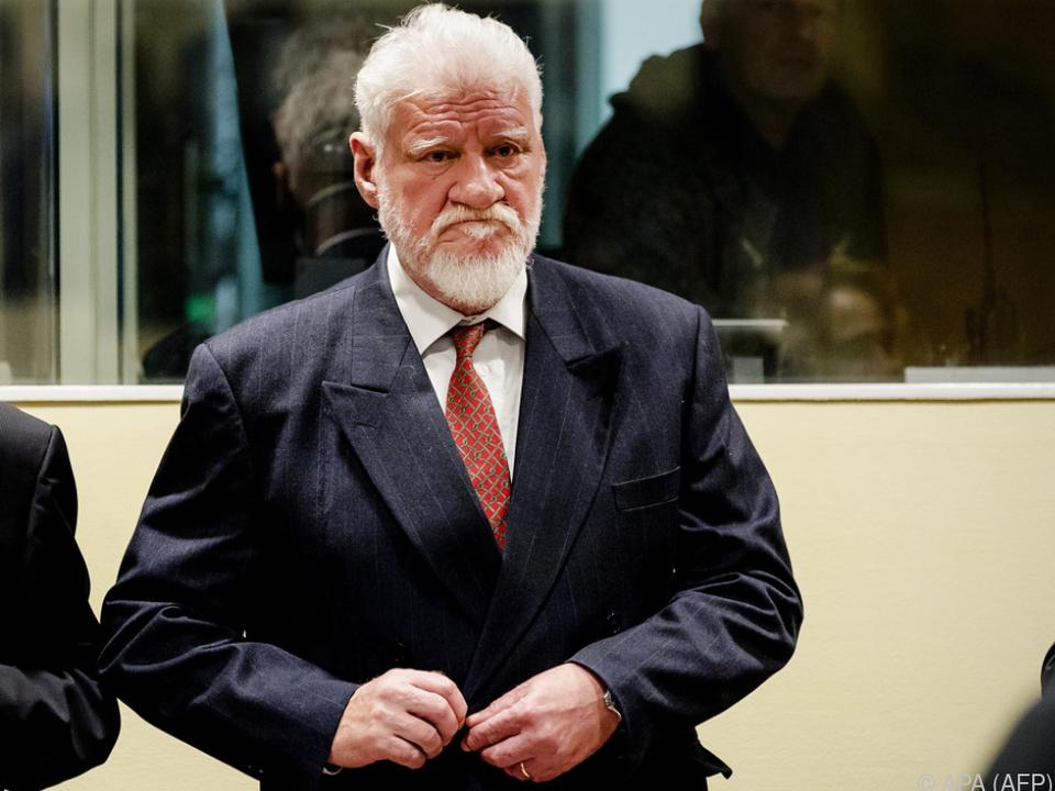 Slobodan Praljak entzog sich seiner Verantwortung