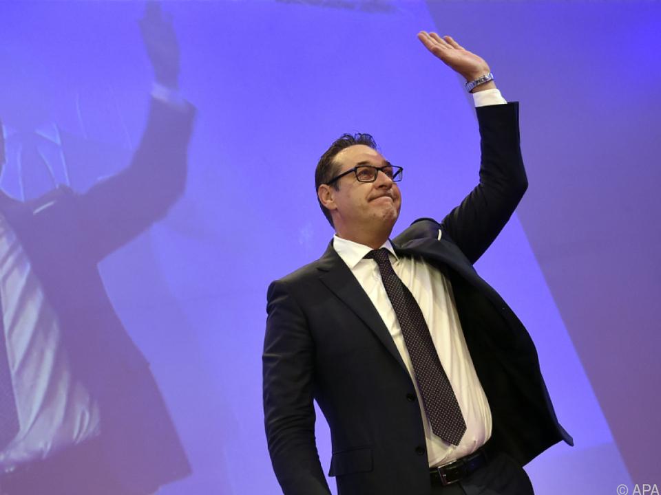 Strache erhielt 99,12 Prozent der Delegiertenstimmen