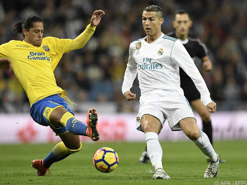Superstar Ronaldo blieb diesmal ohne Torerfolg