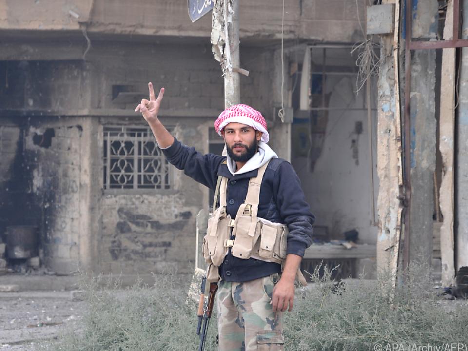 Syrische Armee nahm die Stadt Albu Kamal ein