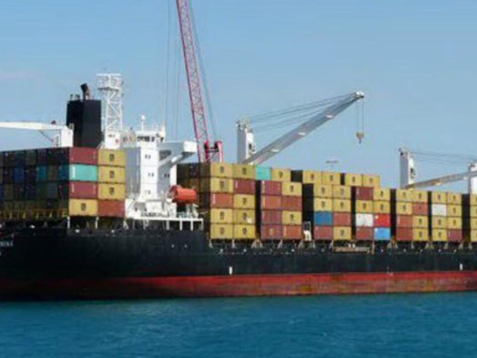 Frachtschiff Giannina