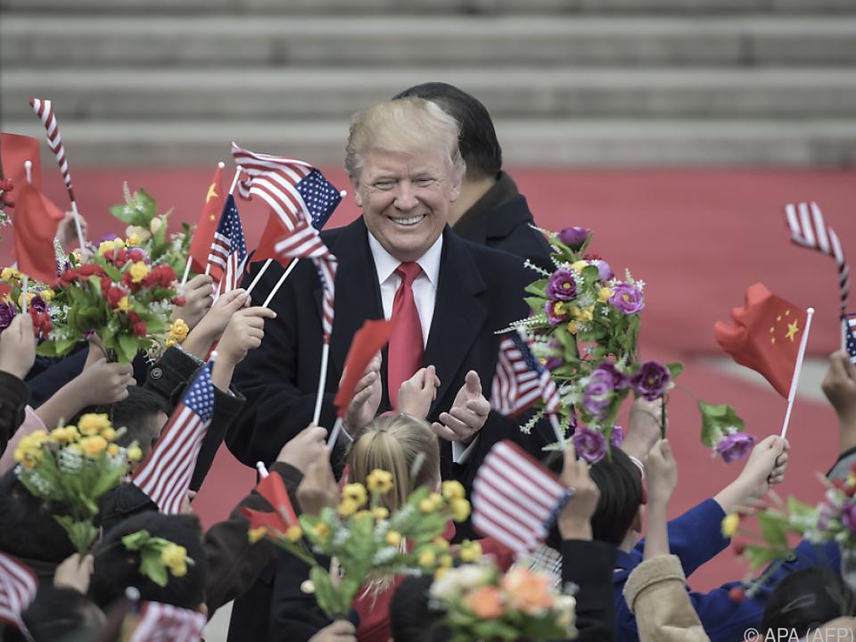 Trump gewann die Wahl am 8. November 2016