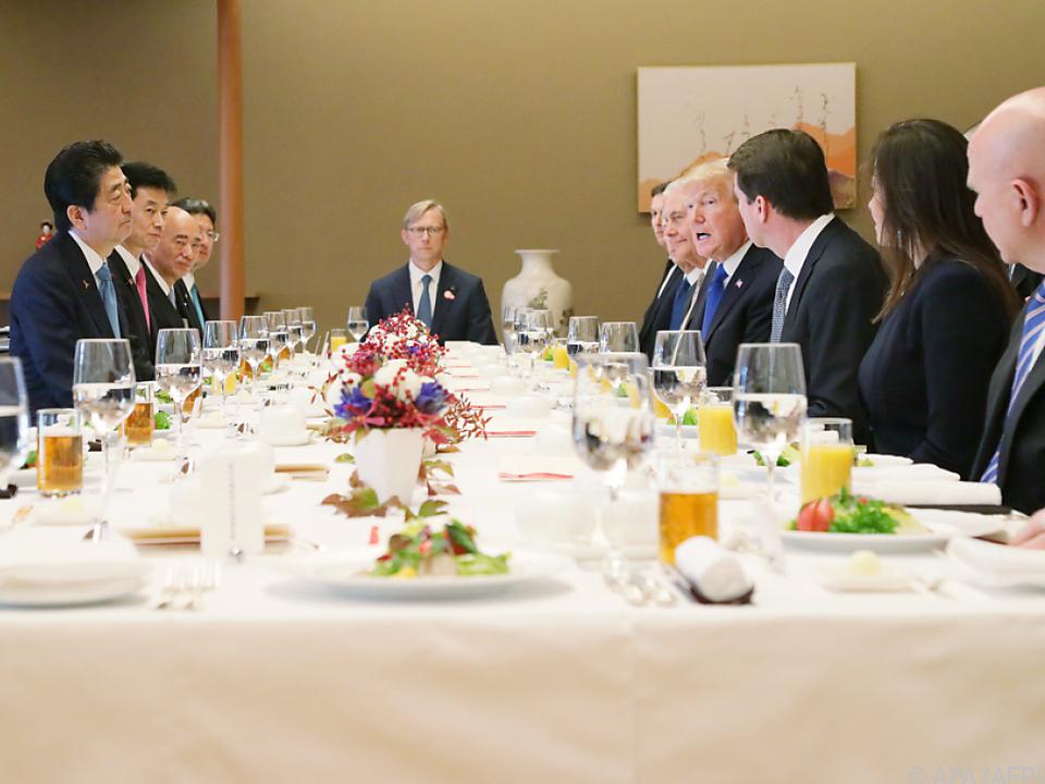 Trump will die Handelsbeziehungen mit Japan verbessern