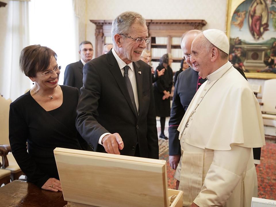 Van der Bellen vom Papst sehr angetan