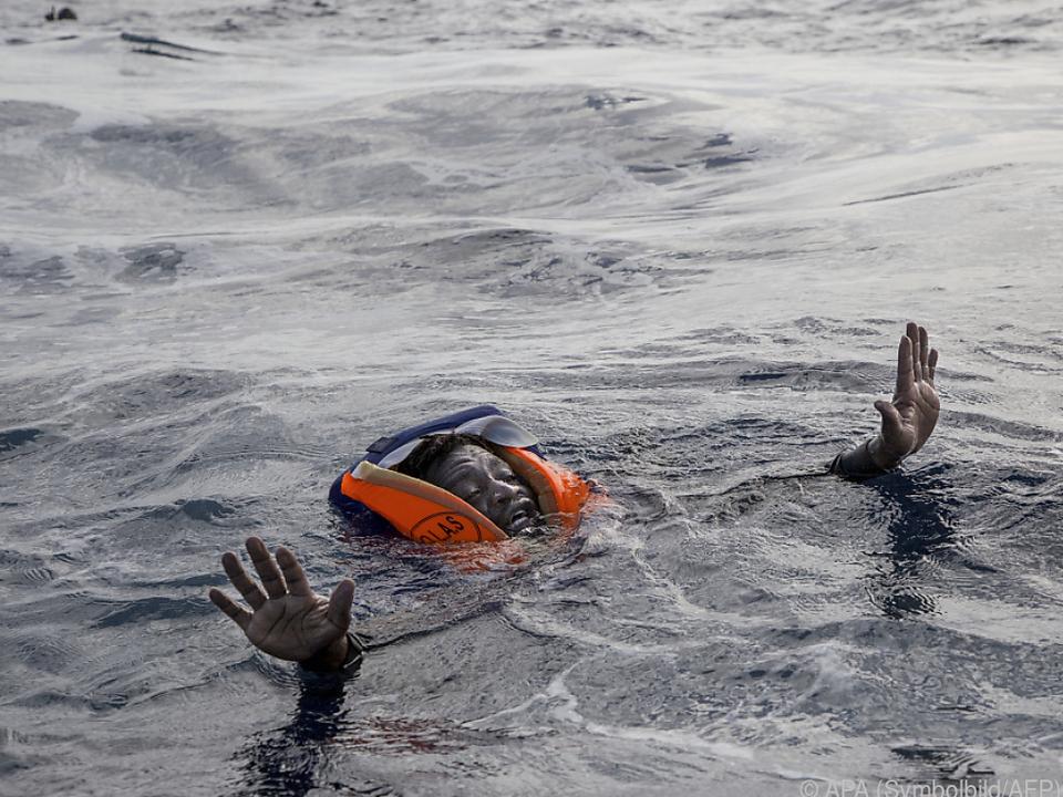 Viele Flüchtlinge setzen ihr Leben aufs Spiel