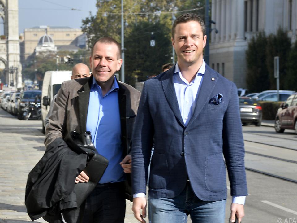 Vilimsky und Gudenus haben beim Präsidenten keine Chance