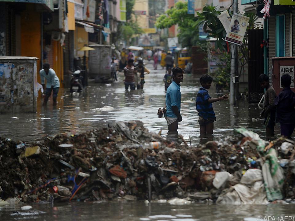 Vor allem Chennai ist stark betroffen