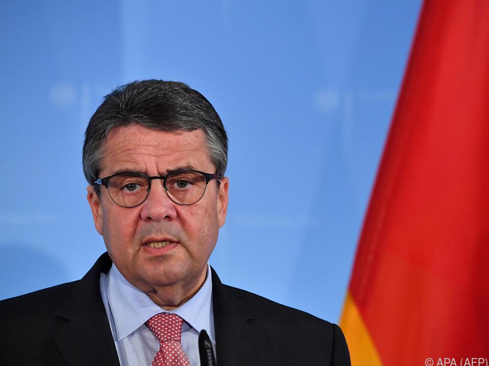 Warnende Worte des deutschen Außenministers