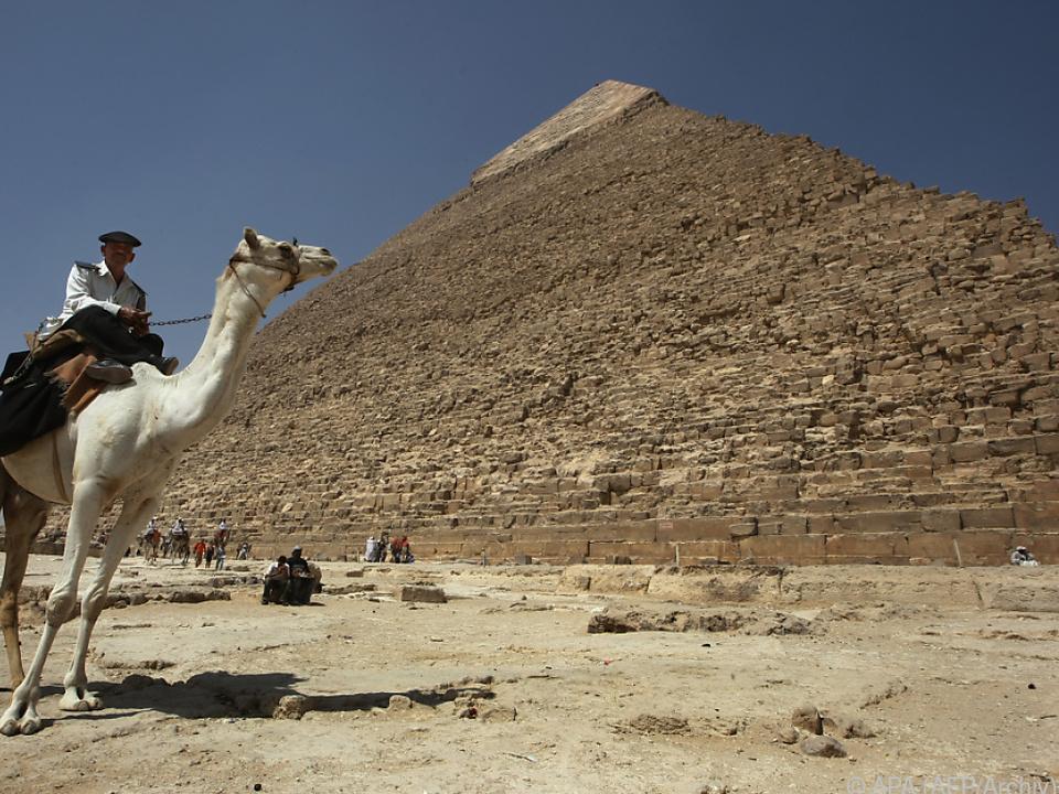 Was verbirgt sich noch in der Pyramide?