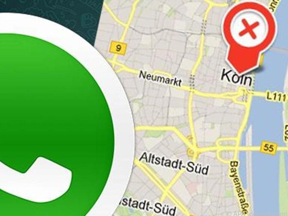 WhatsApp teilt auf Wunsch allen Freunden dauerhaft den Standort mit