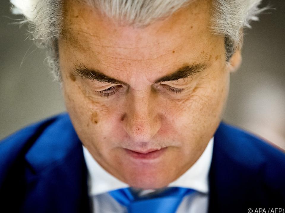 Wilders setzt auf Provokation