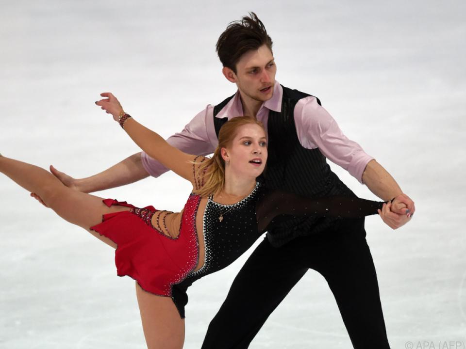 Windsor mit seiner Partnerin Ekaterina Alexandrovskaya
