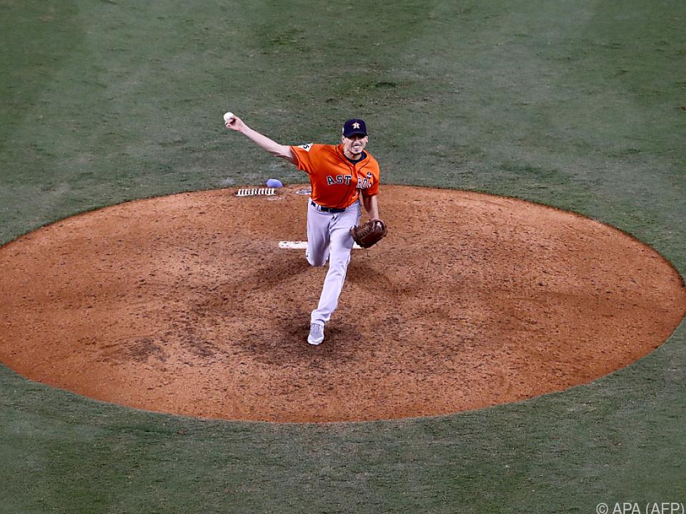 Zum Helden avancierte Astros-Pitcher Morton