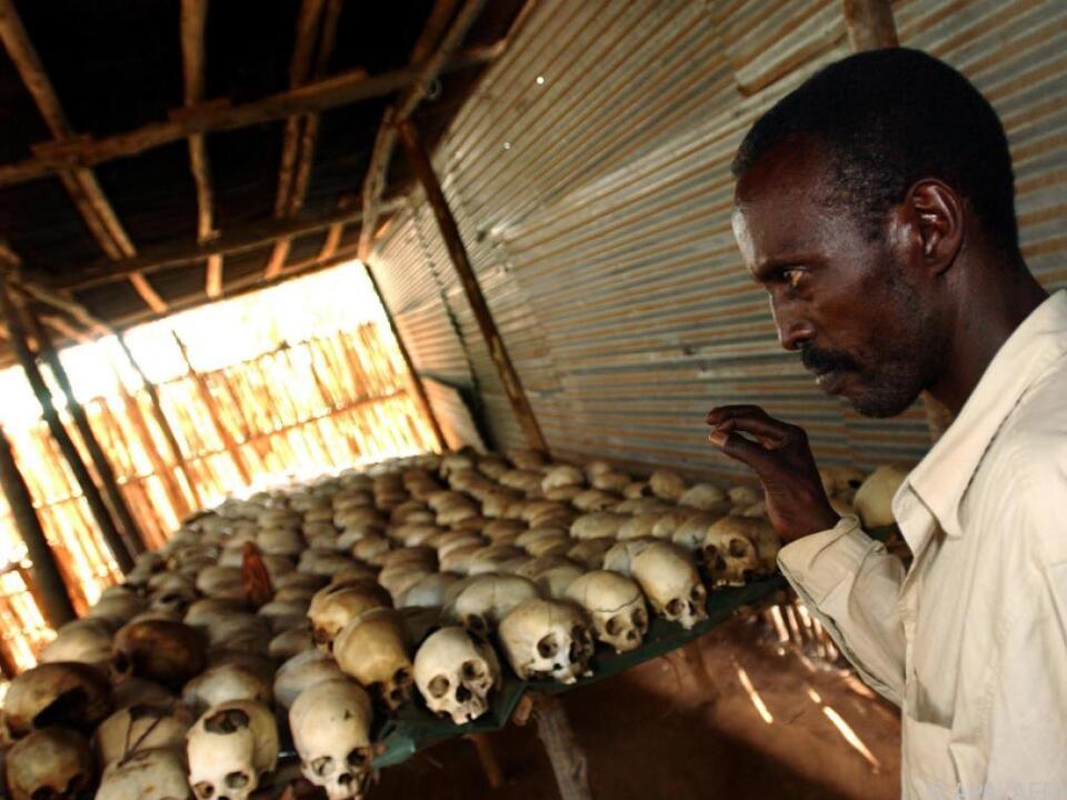 1994 starben rund 800.000 Menschen bei Unruhen in Ruanda