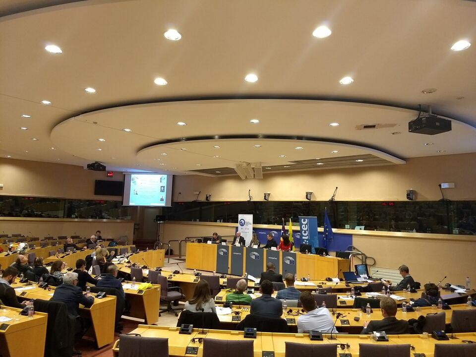 2017-12-07-konferenz Die Konferenz im Europäischen Parlament.