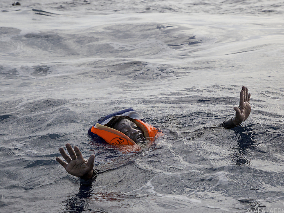 2017 starben weniger Flüchtlinger im Mittelmeer