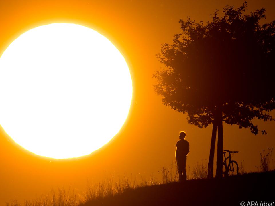 sommer sonne wetter 2017 war eines der sonnigsten Jahre seit 1925