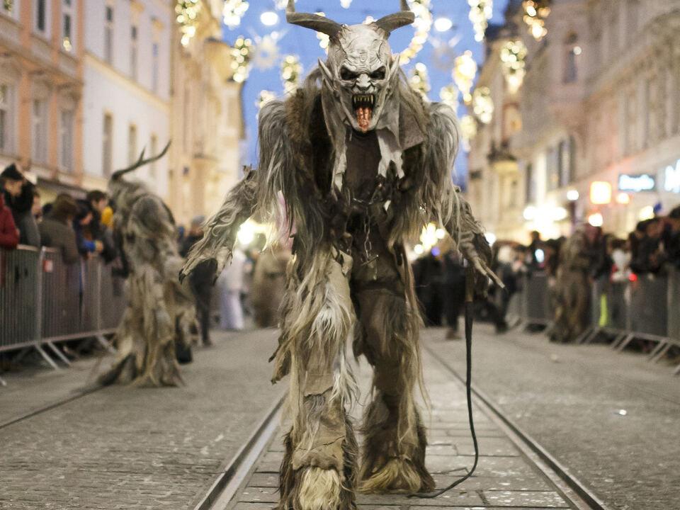 AUT, Krampus- und Perchtenlauf in Graz