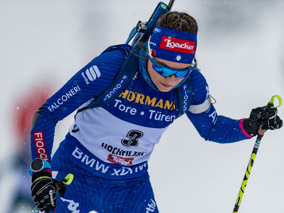 AUT, IBU Weltcup Biathlon, Hochfilzen dorothea wierer