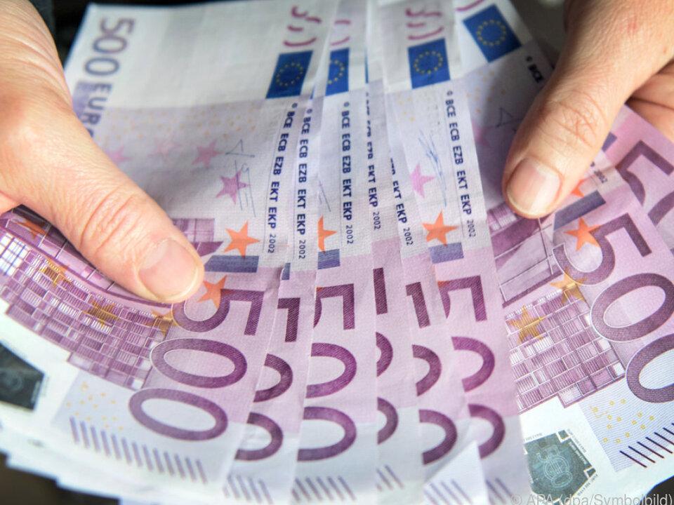 500-Euro-Scheine hat nicht jeder